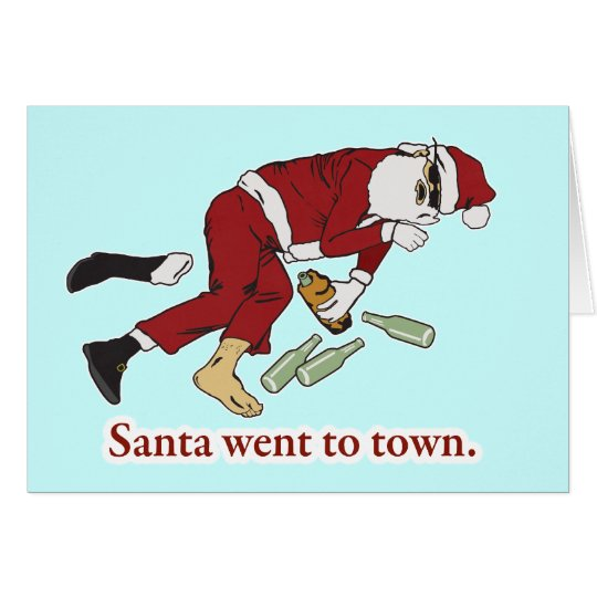 santa_went_to_town card