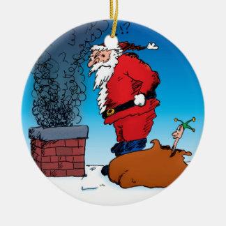Santa Whiz Ornament