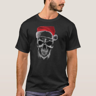 Santa Wicked Skull T-Shirt