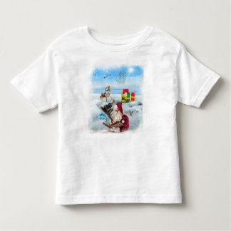 Santa Wish List Toddler T Tee Shirts