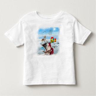 Santa Wish List Toddler T Toddler T-shirt