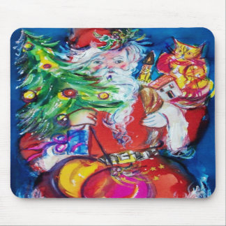 SANTA WITH CHRISTMAS TREE AND GIFTS MOUSEPADS