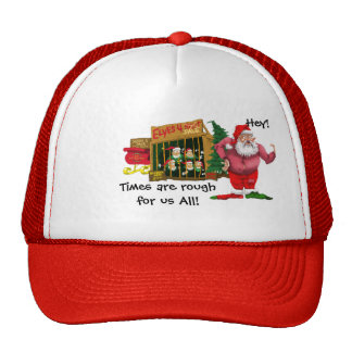 Santa with elves for rent hats