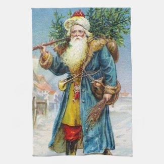 Santa with Fir Tree