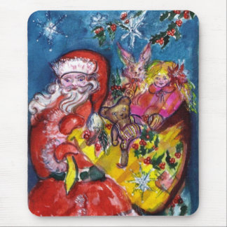 SANTA WITH GIFTS MOUSE PAD