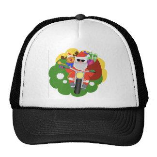 Santa with Goodie Bag Trucker Hat