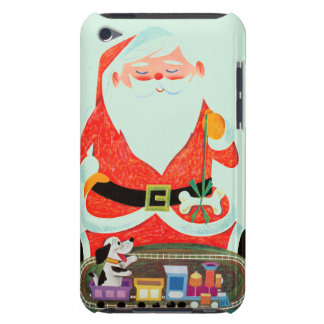 Santa with Train iPod Touch Cover