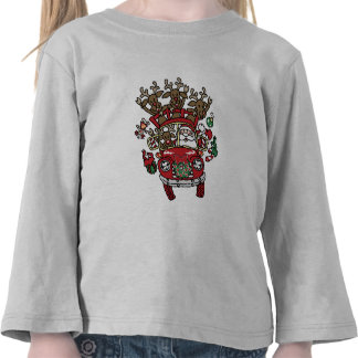 """Santa Woody"" Toddler Tee"