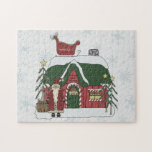 Santa Workshop Christmas Scene 10x14 ONLY! Puzzles