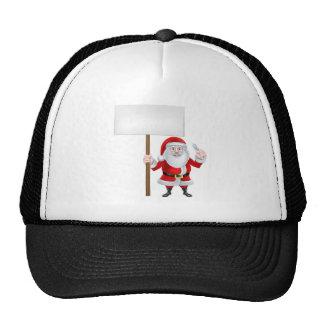 Santa Wrench Sign Trucker Hat