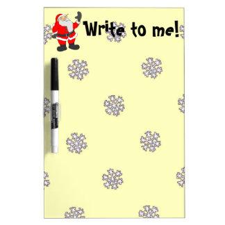 Santa, Write to me Dry-Erase Board
