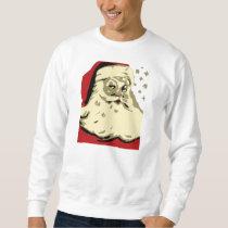 Santa Xmas / Christmas Mens Graphic Sweat Shirt