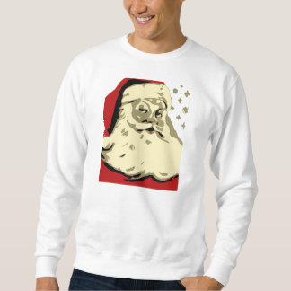 Santa Xmas / Christmas Mens Graphic Sweat Shirt