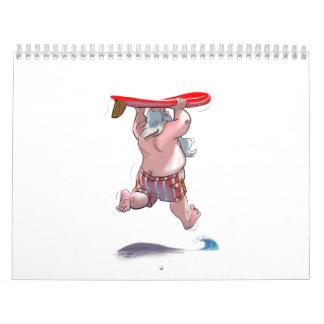 SaNtA y amigos Calendario