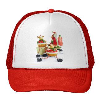 Santa y gorra de Reideer