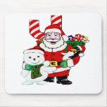 Santa y Pals Tapete De Ratón