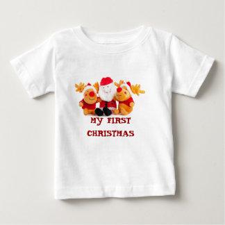 Santa y renos polera
