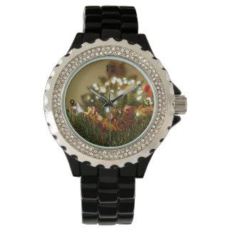 Santa y trineo relojes de mano