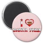Santa Ynez, CA Fridge Magnet