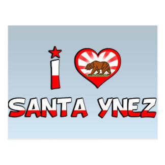 Santa Ynez, CA Postcard