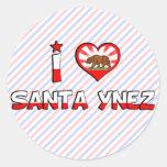 Santa Ynez, CA Stickers