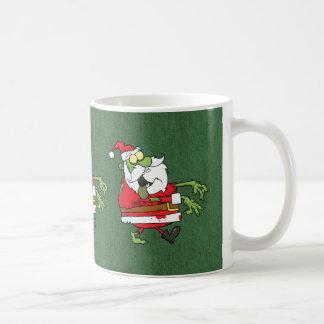 Santa Zombie Classic White Coffee Mug
