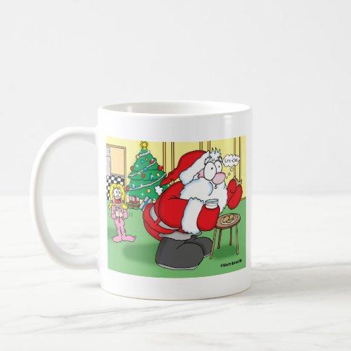 santacaughtmug mug