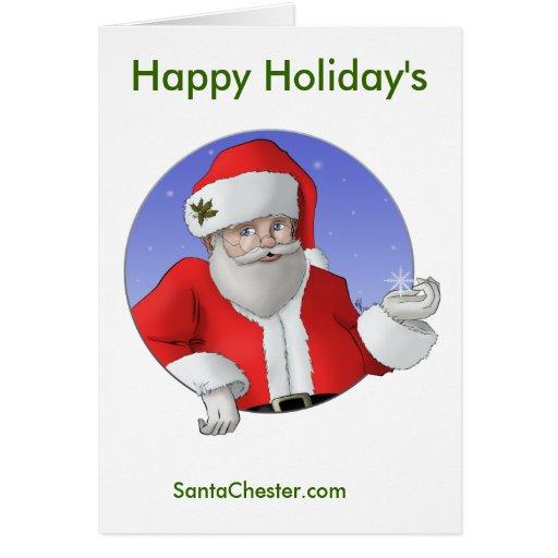 SantaChester Holiday Card