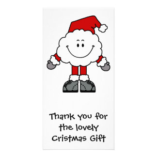 Santacloud Thanks Picture Card
