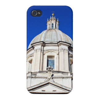 Santagnese in Agone Church in Piazza Navona, Rome Cover For iPhone 4
