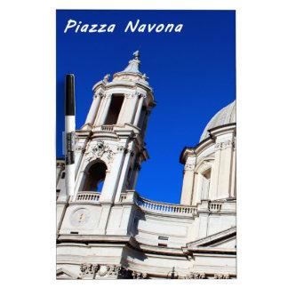 Santagnese in Agone Church in Piazza Navona, Rome Dry-Erase Board
