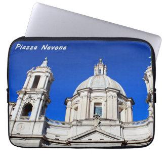 Santagnese in Agone Church in Piazza Navona, Rome Laptop Sleeve