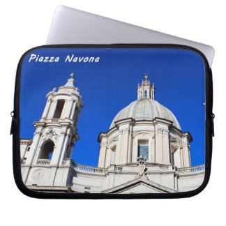 Santagnese in Agone Church in Piazza Navona, Rome Computer Sleeve
