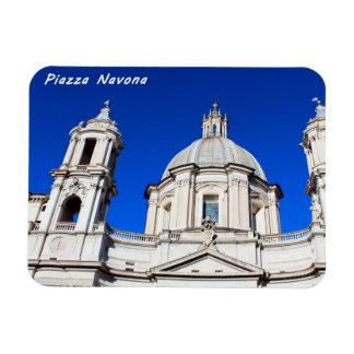 Santagnese in Agone Church in Piazza Navona, Rome Magnet