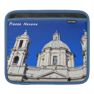 Santagnese in Agone Church in Piazza Navona, Rome Sleeve For iPads