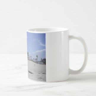 SantaMonica Classic White Coffee Mug