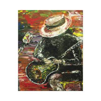 Santana Stretched Canvas Print