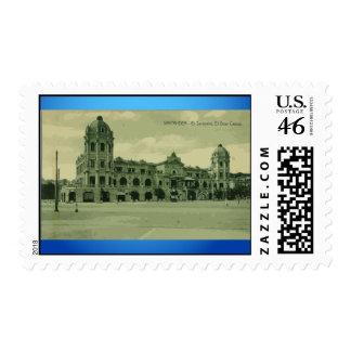 Santander . Ei Sardinero. Ei Gran Casino, Vintage Stamps