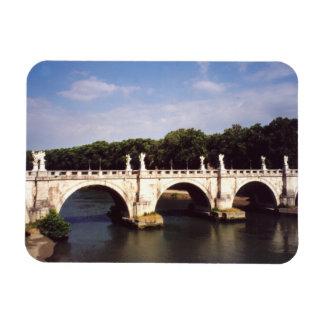 Sant'Angelo Bridge in Rome, Italy Flexible Magnets