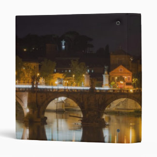 Sant'Angelo Bridge over the Tiber River Binder