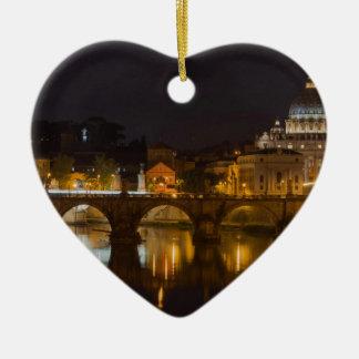 Sant'Angelo Bridge over the Tiber River Ornament