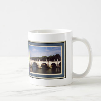 Sant'Angelo Bridge Rome framed Coffee Mug