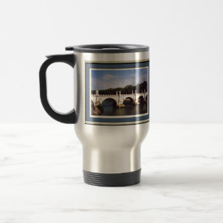 Sant'Angelo Bridge Rome framed Travel Mug