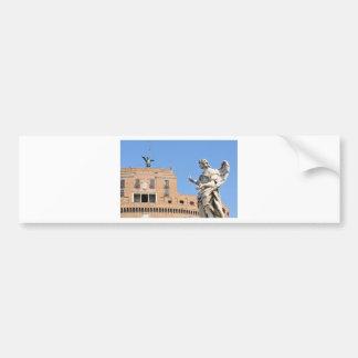 Sant'Angelo Castle in Rome, Italy Bumper Sticker