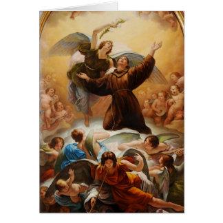 Sant'Antonio in Gloria by Odorico Politi Card