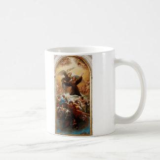 Sant'Antonio in Gloria by Odorico Politi Classic White Coffee Mug