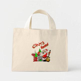 santarocks2 mini tote bag