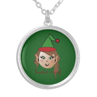 Santa's # 1 Elf Necklace