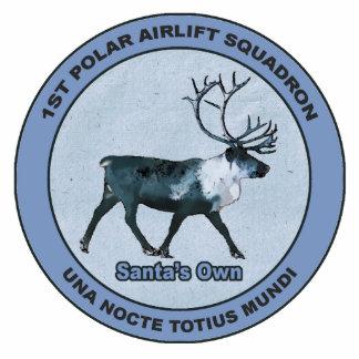 Santa's 1st Polar Airlift Sqdn - Subdued Cutout