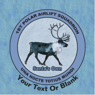 Santa's 1st Polar Airlift Sqdn - Subdued Statuette
